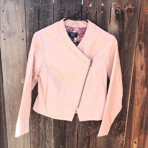 G By Giuliana Ultra Luxe Faux Leather Moto Jacket